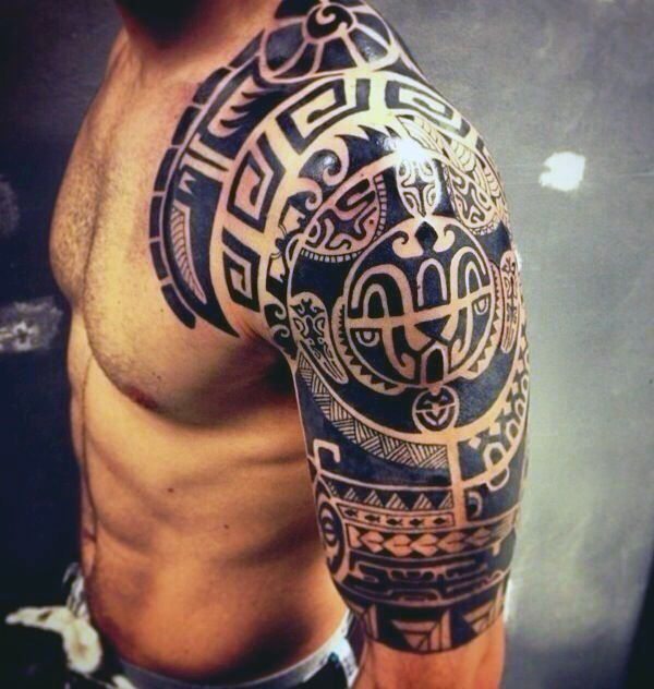 90 Cool Arm Tattoos For Guys - Manly Design Ideas | Tribal arm ...
