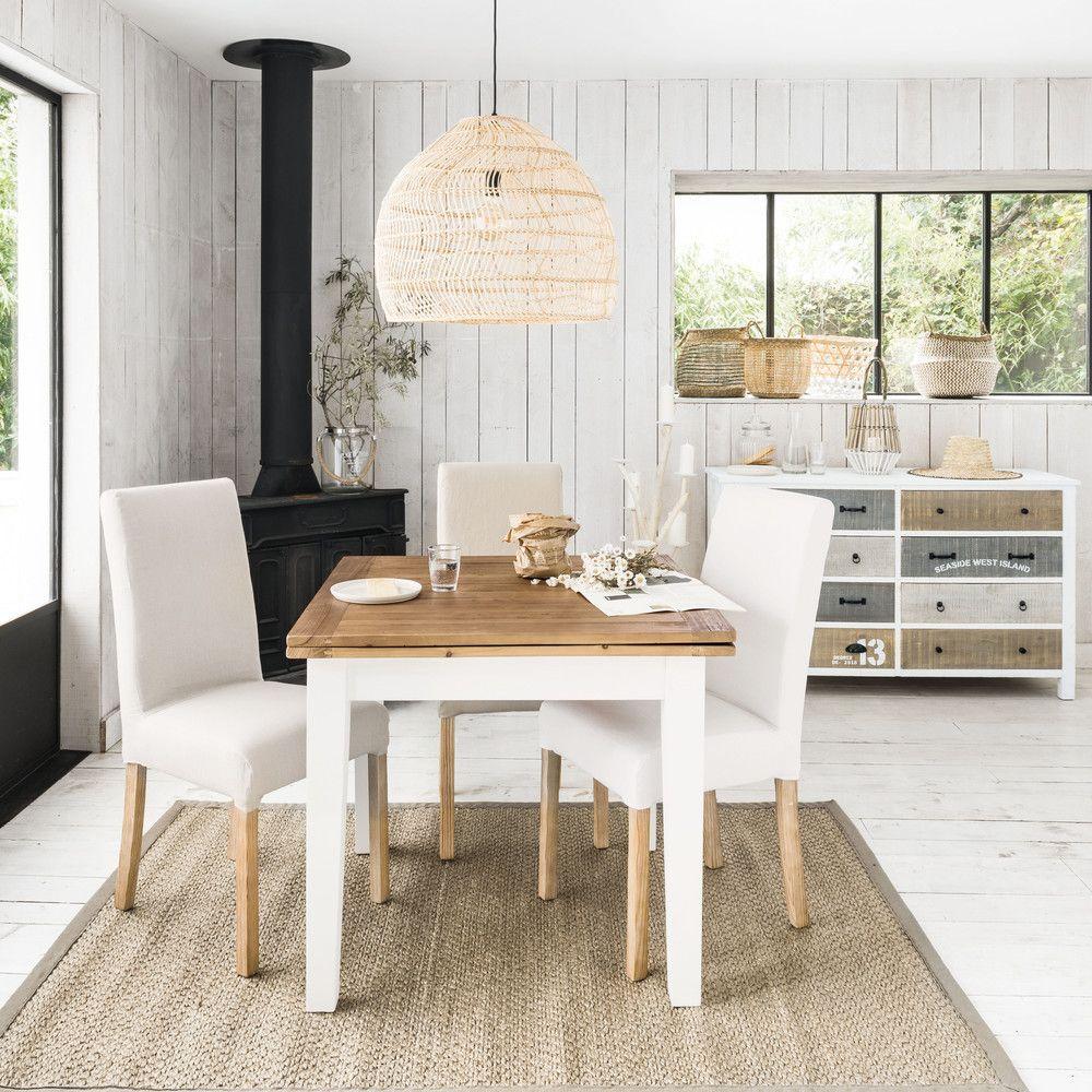 ausziehbarer esstisch 4 bis 8 personen l90 180 haus und. Black Bedroom Furniture Sets. Home Design Ideas