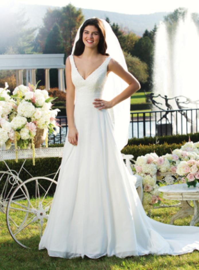 sincerity 3751 375 size 12 used wedding dresses size 12