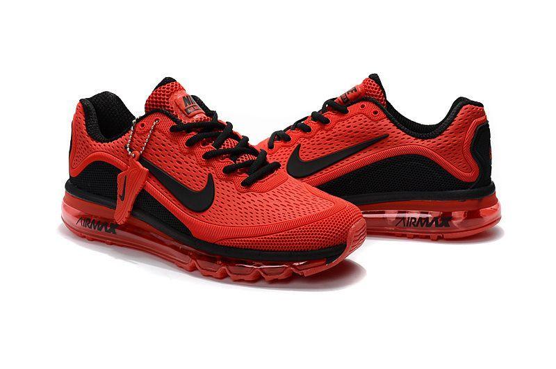 New Coming Nike Air Max 2017 5max Kpu Red Black Nike Air Max Running Shoes For Men Nike Shoes Air Max
