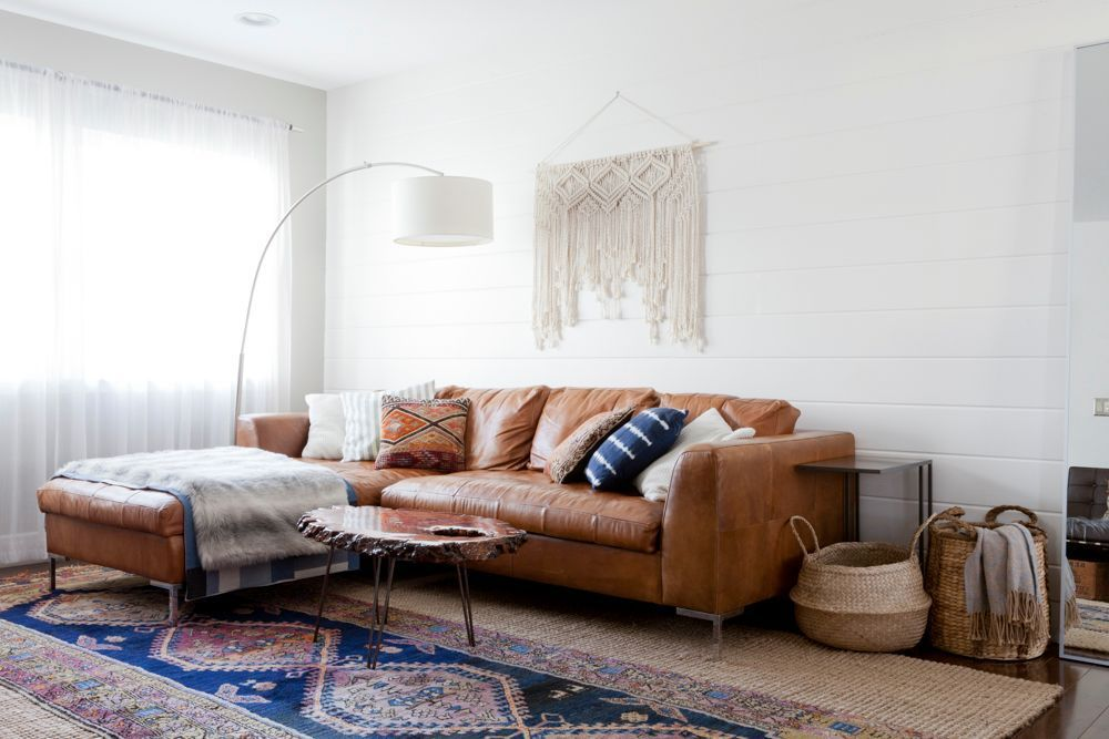 See more images from boho minimalism in a family-friendly redesign on domino.com