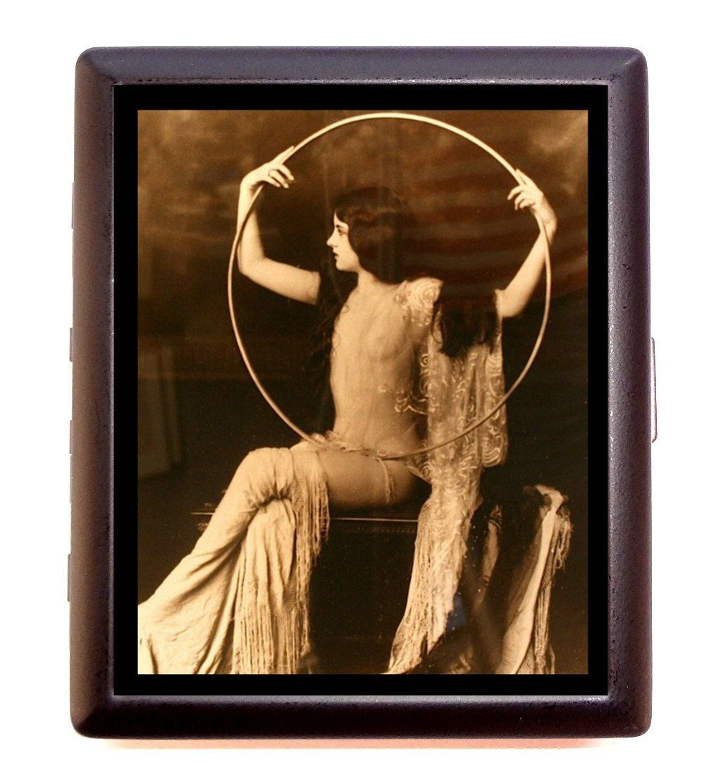 Flapper Art Deco Art Nouveau Follies Woman With Big Hoop Version 2 ...