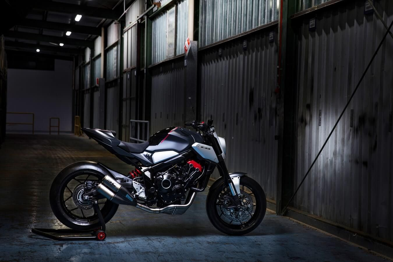 2019 Honda Cb650r Neo Sports Cafe Concept Motorcycle New Naked Cbr