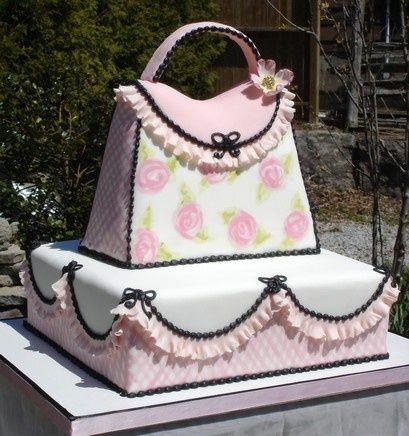 Delicada Bolsa Cor-de-rosa ...