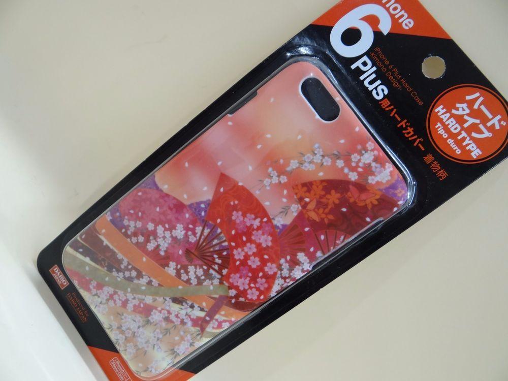 Japan Daiso Iphone 6 Plus Hard Case Kimono Design From Japan Daiso 画像あり
