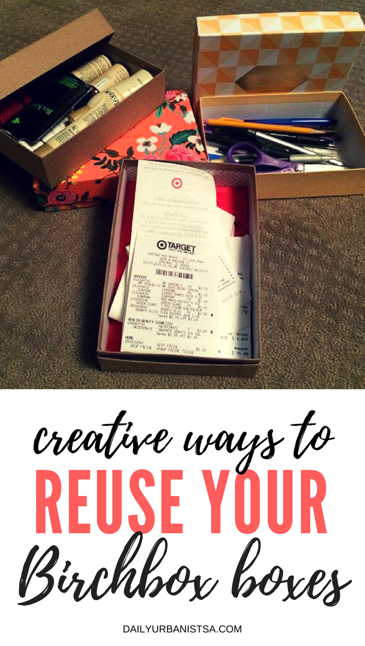 9 Brilliant Ways To Reuse Those Birchbox Or Glossybox Boxes You Have Piling Up At Home Crafts Birchbox Boxes Birchbox Diy Birchbox Upcycle