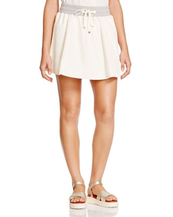 Moncler Drawstring Tennis Skirt