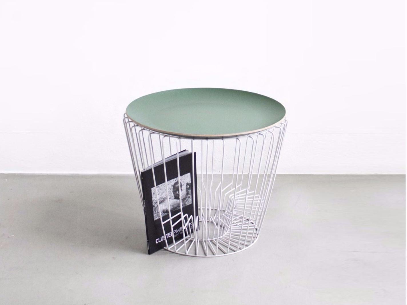 Mobilia design coffee and side tables - Buy Online Coffee Table By Comingb Round Side Table With Integrated Magazine Rack Design Comingb