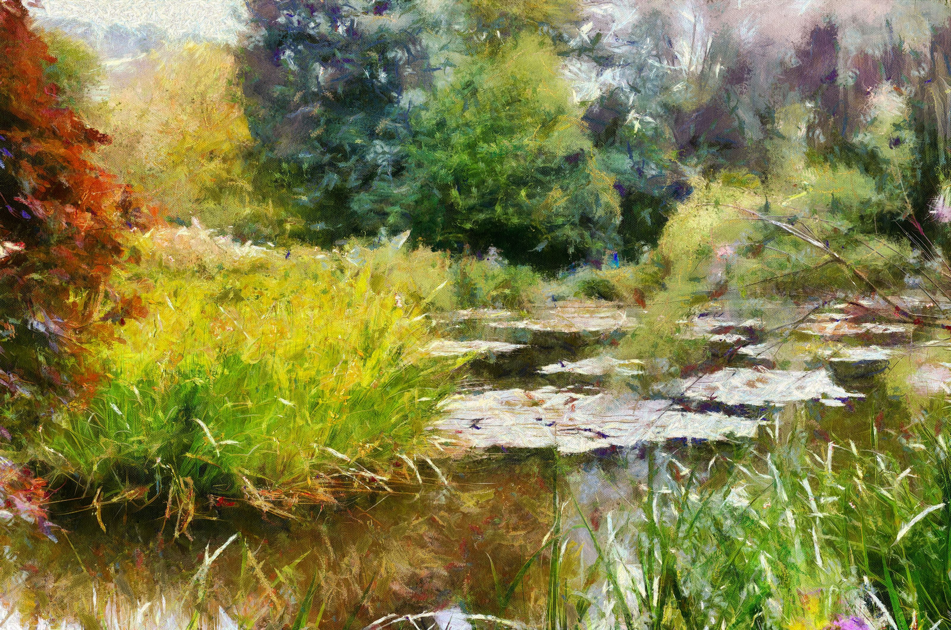 Inspired by Monet Photo to painting - Dynamic Auto Painter for windows