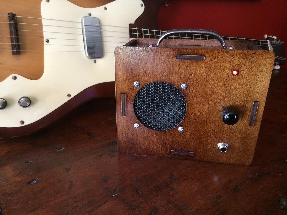 Build this simple diy guitar amp kit diy guitar amp
