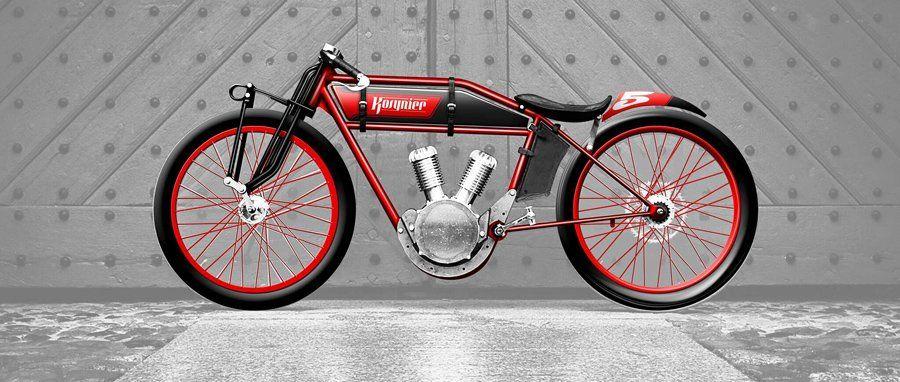 Vintage Red Bike Electric Bike Electric Bike Bicycles Red Bike