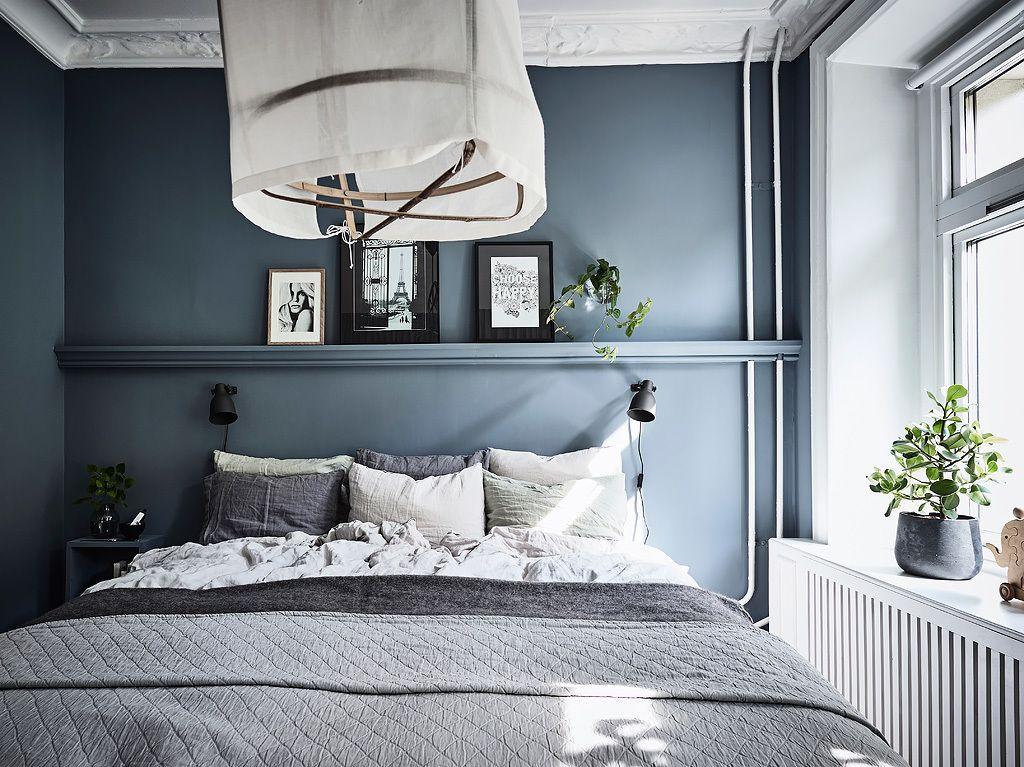 Mooie Slaapkamer Gordijnen : In deze mooie slaapkamer zijn gordijnen opgehangen vóór de open
