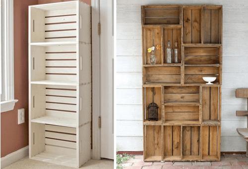 Modelos de muebles de cajones reciclados | Reciclaje | Pinterest ...