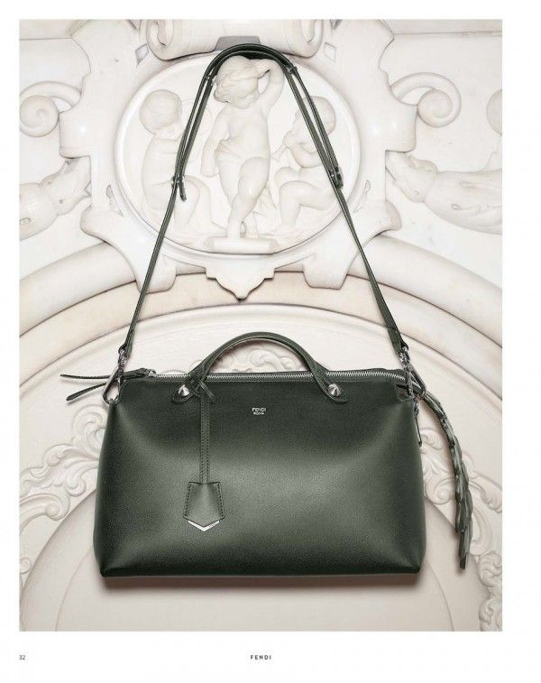 Fendi By the Way Large Bag in Forest Green with Croc Tail – $2,500 ...