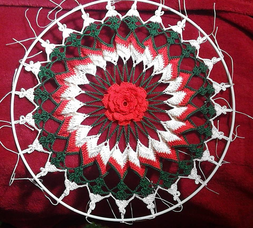 Trick or Treat Doily pattern by Elizabeth Ann White | Ravelry ...