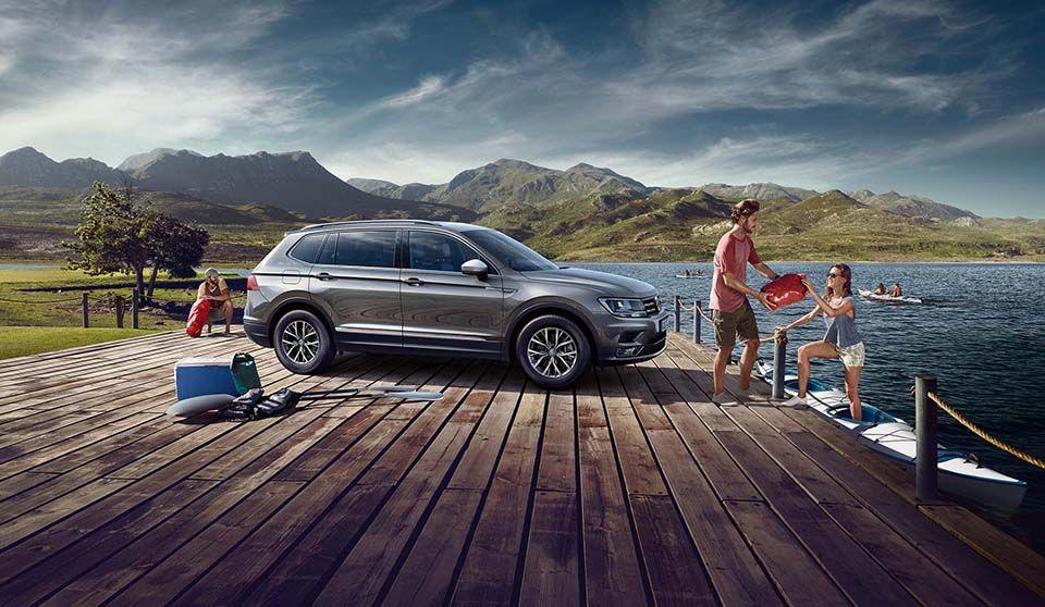 Tiguan Allspace Outside Thumbnail In 2020 Car Advertising Volkswagen Ad Car