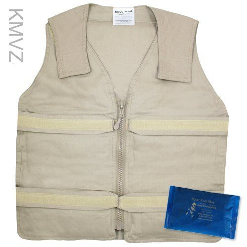 Cooling Vests Body Cooling With Adjustable Velcro Straps Bronezhilet Specodezhda