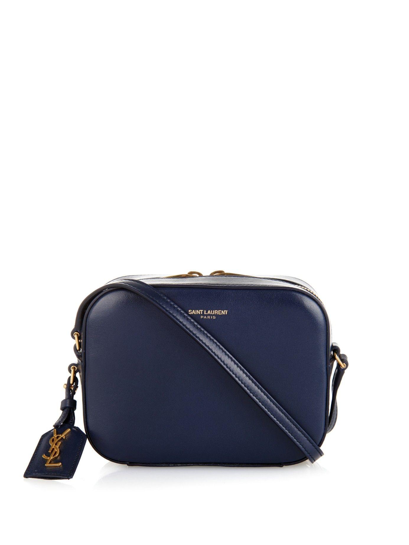 Small Leather Camera Bag Saint Laurent Matchesfashion Com Uk