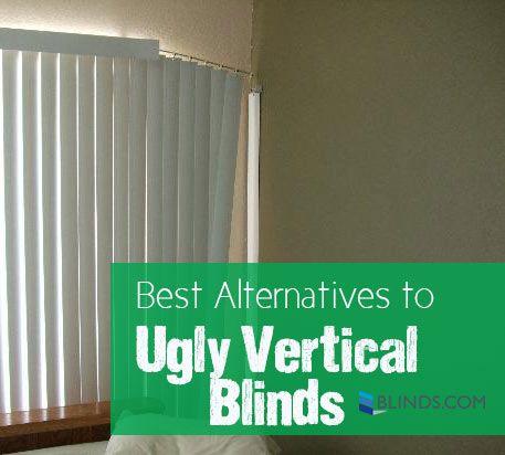Alternatives To Vertical Blinds Blinds Com Vertical Window