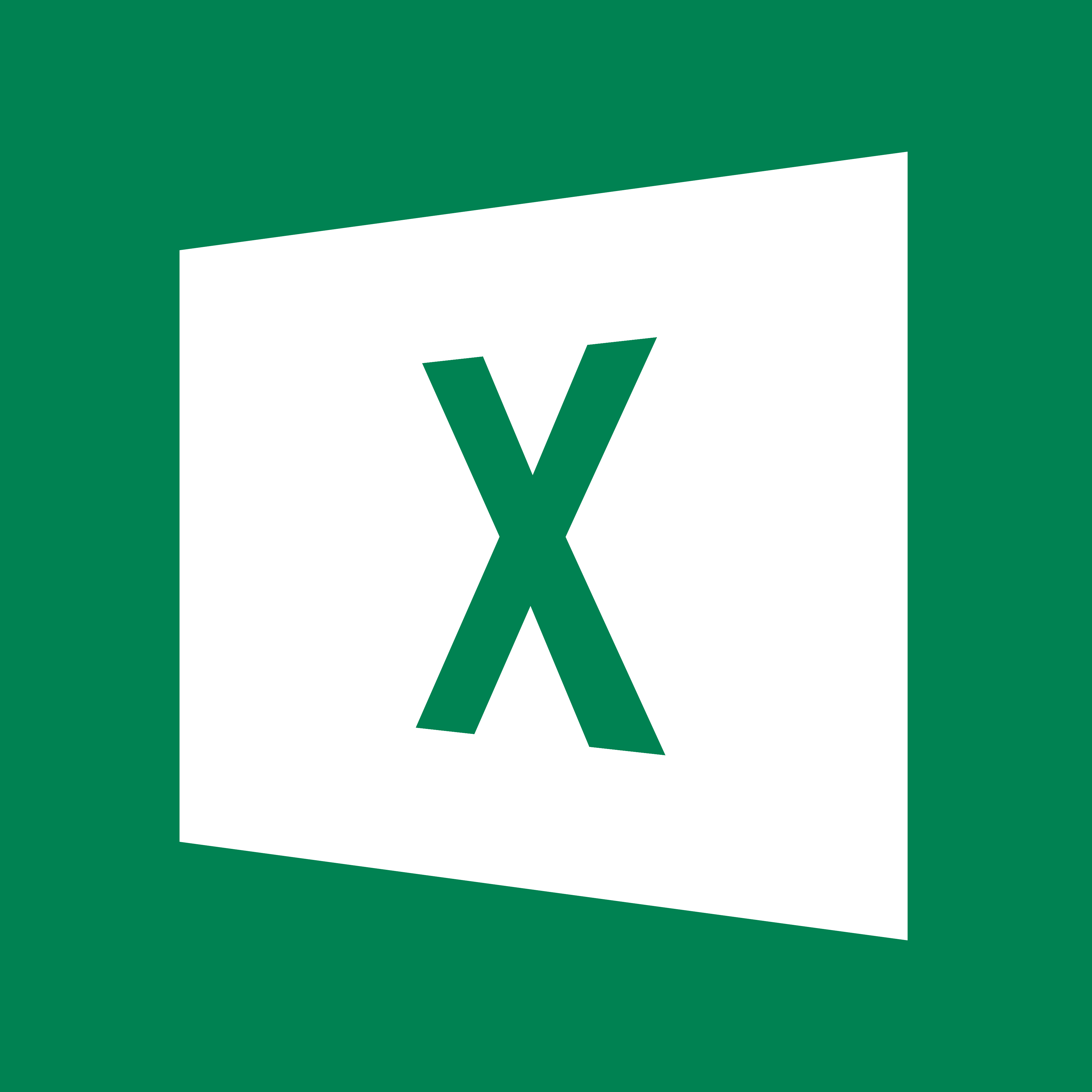 Microsoft Office Excel Icon By Zanellog
