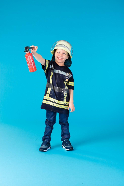 Spieleshirt Feuerwehr Blau In 2020 Feuerwehrmann Kostum Feuerwehr Feuerwehrmann