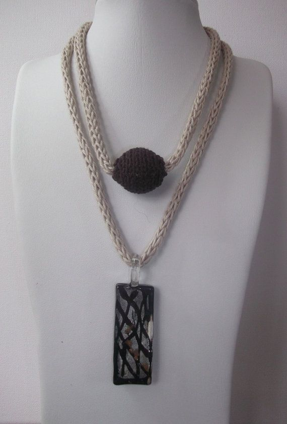 Knitted Pendants