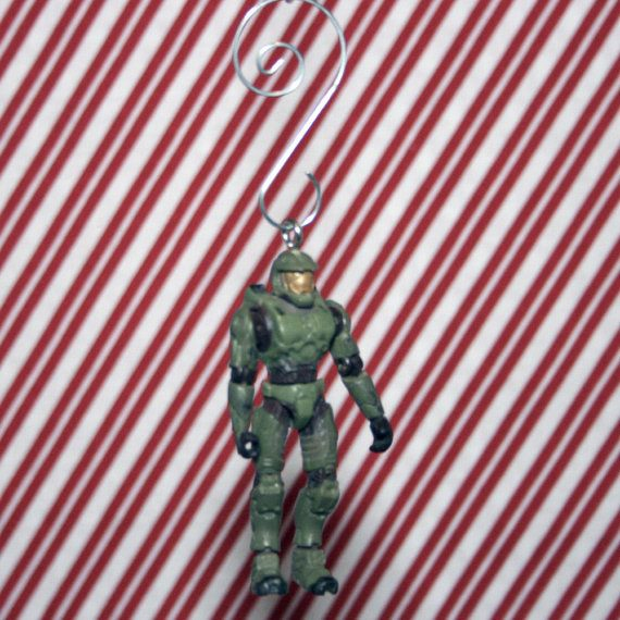 Halo Master Chief Christmas Ornament | Geekdom | Pinterest | Halo ...