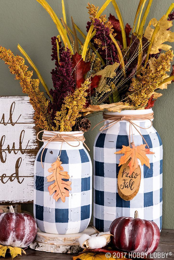 29 Mason Jar Crafts That Will Get You So Excited for Fall