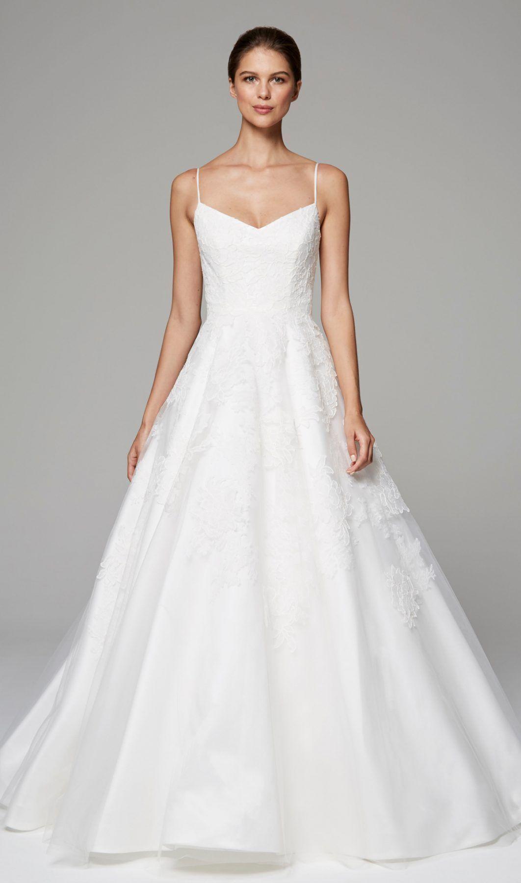 36++ Simple a line spaghetti strap wedding dress info