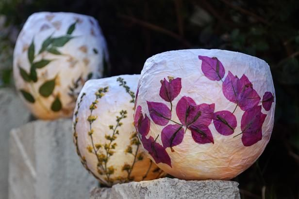 lilie kerzenhalter basteln anleitung, how to make paper lanterns | flower, paper lanterns and paper mache, Design ideen