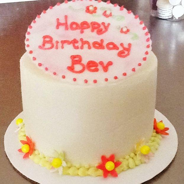 Tiny 4 Inch Birthday Cake Cakes Sweet Maddies Pinterest