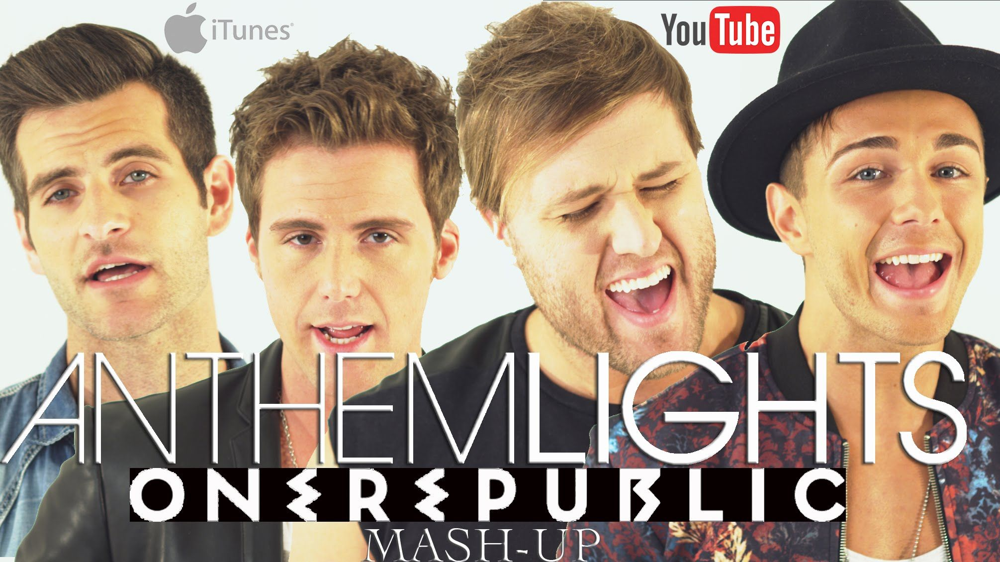 "OneRepublic Mash-Up - ""Counting Stars"" ""Apologize"" ""Good Life"" ""Secrets""... - The mother of all mash-ups. So these many tunes is possible ((:"