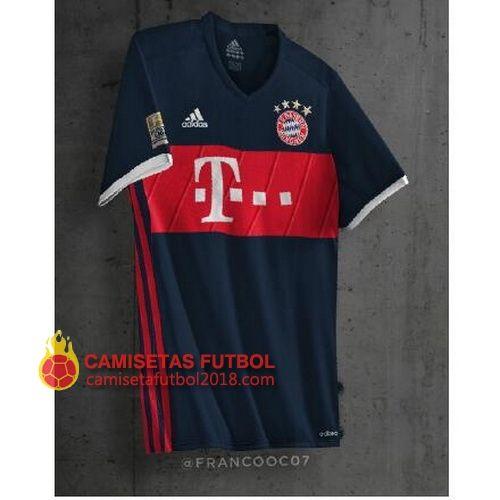 Segunda camiseta Tailandia del Bayern Munich 2017 2018