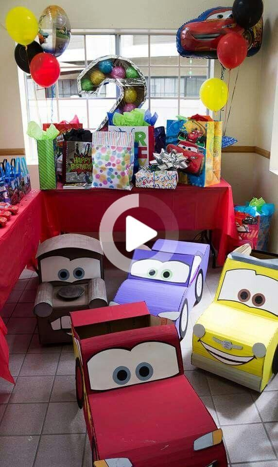 Cars party theme