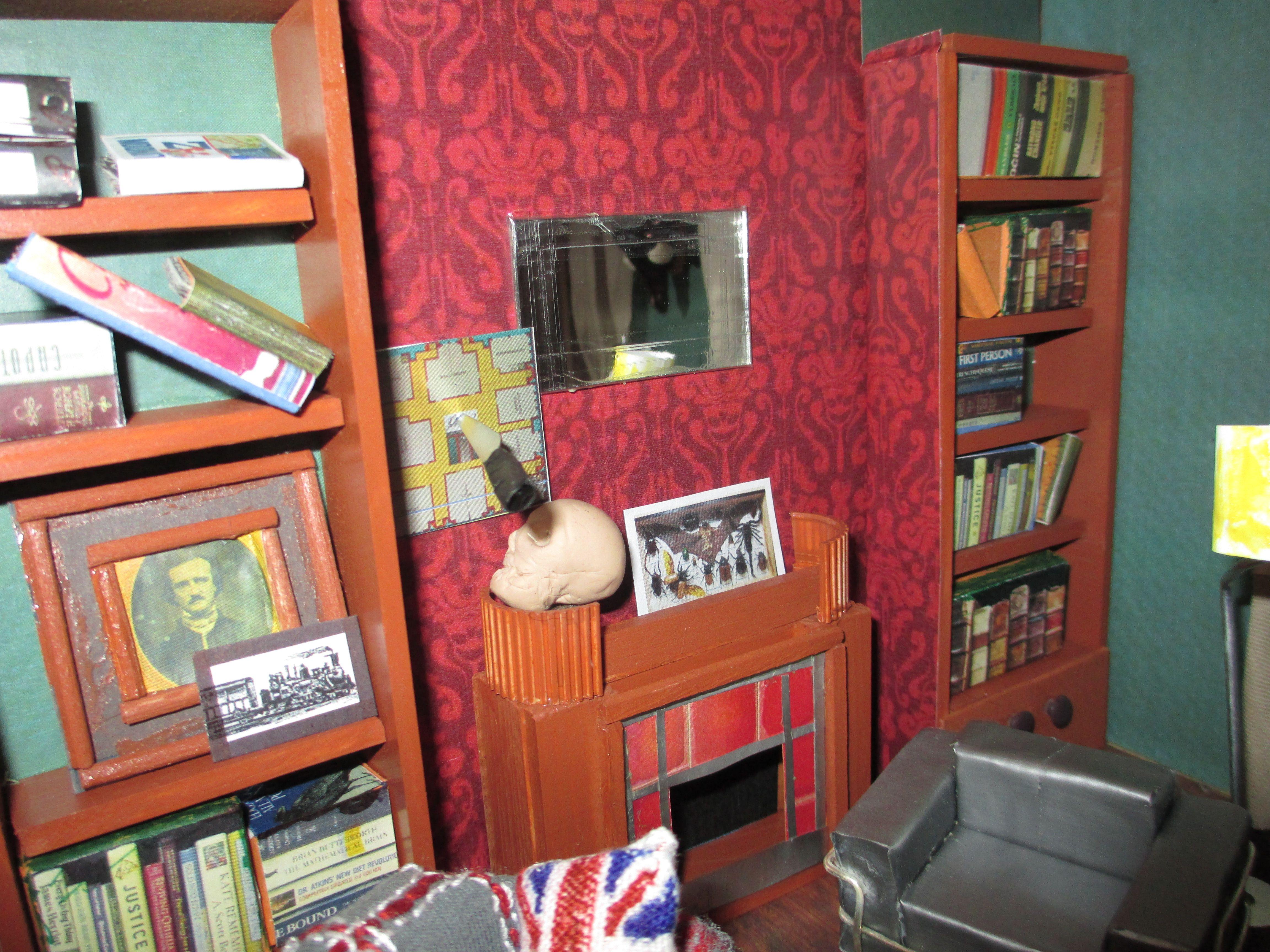 Living room victorian pinterest baker street sofas and 221b - Bbc Sherlock 221b Baker Street Living Room Ball Up My Favorite Props