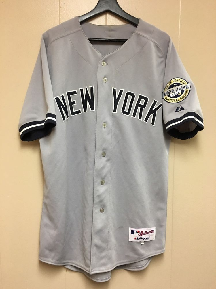 MLB New York Yankees 2009 Inaugural Season Alex Rodriguez Au
