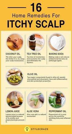 itchy scalp home remedy)