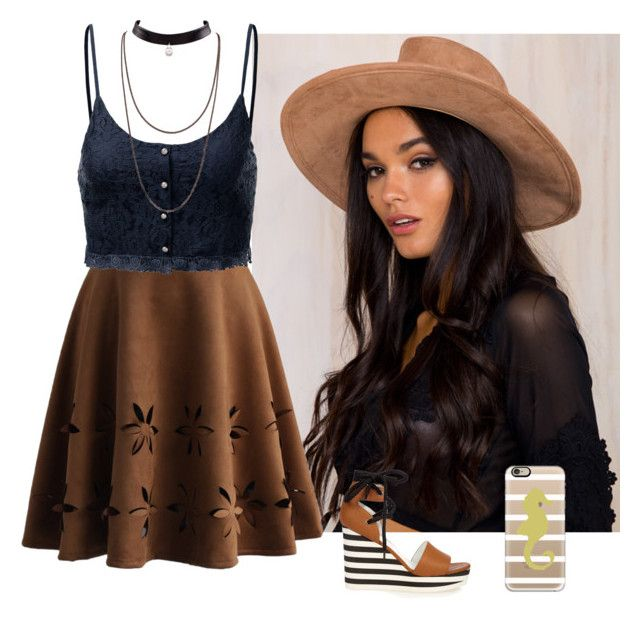 """""""#293"""" by lausantos ❤ liked on Polyvore featuring Chicwish, MaxMara, J.TOMSON and Casetify"""