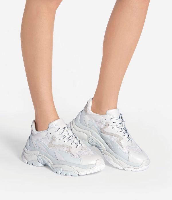 ash addict sneaker white