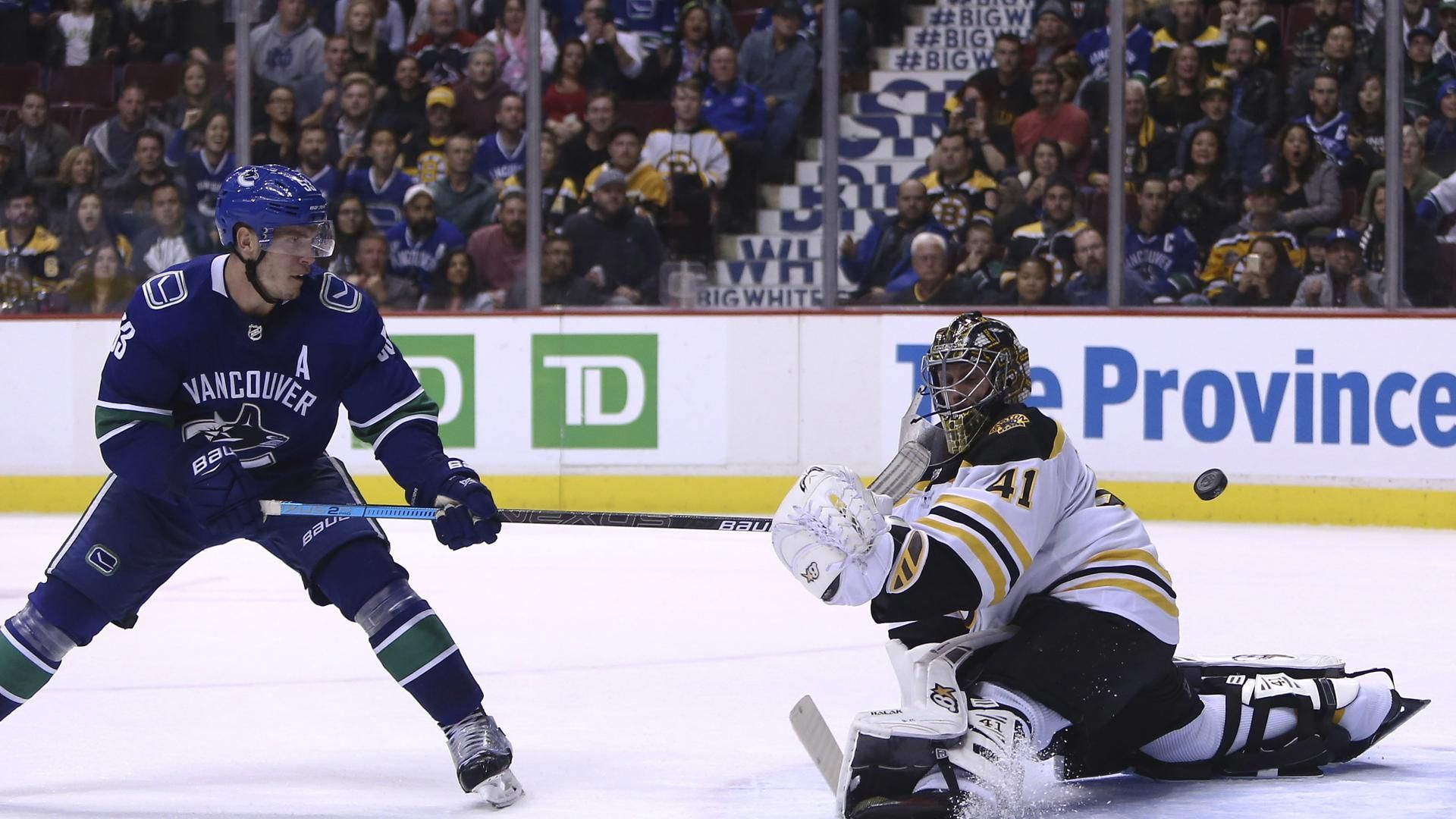 Bruins Stumble In Overtime In Vancouver Boston Bruins Vancouver