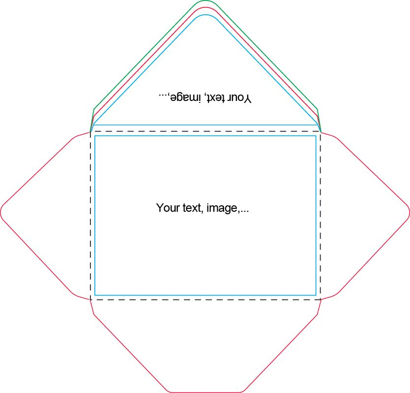 X Envelope Template