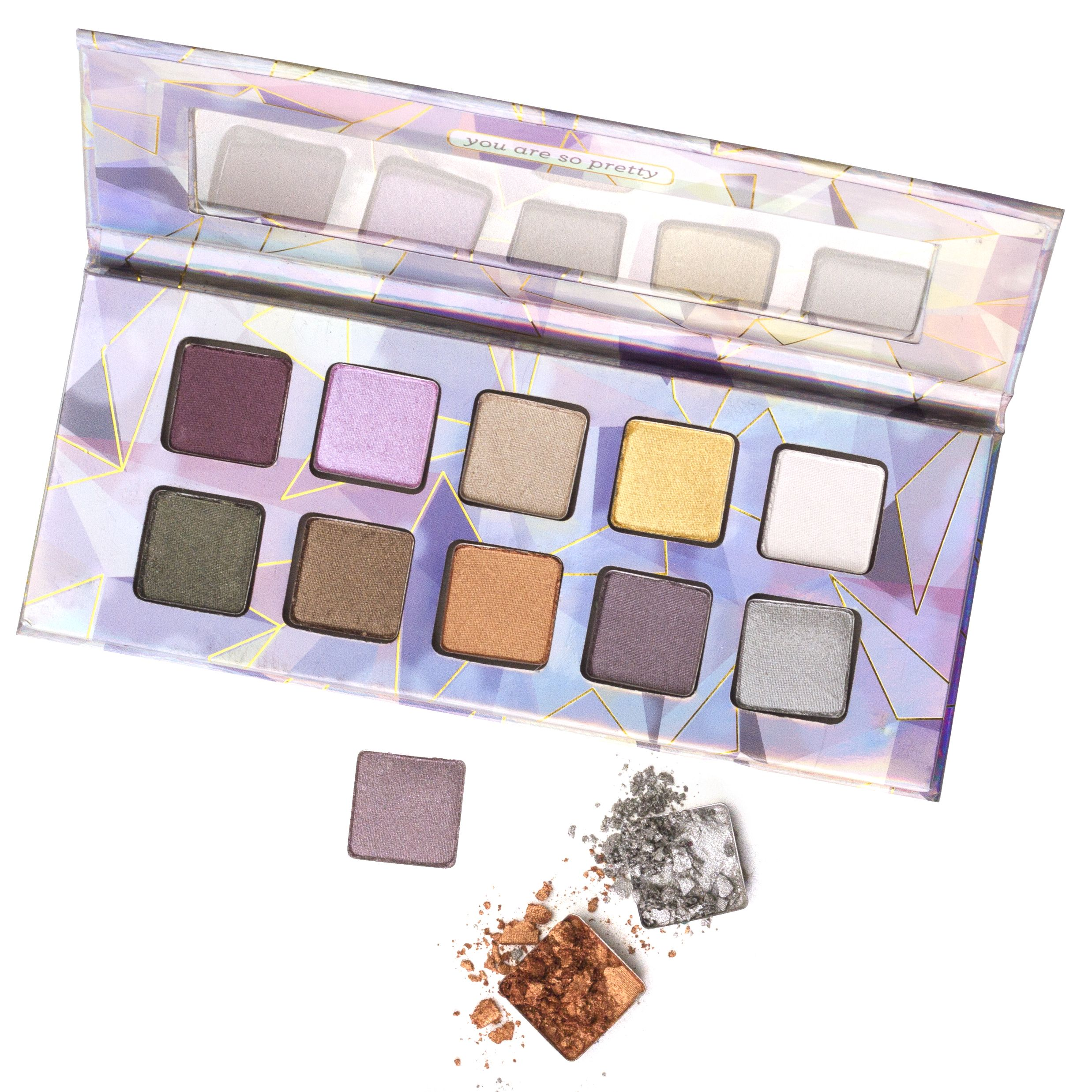 Pacifica's Crystal Matrix Mineral Eyeshadows is a