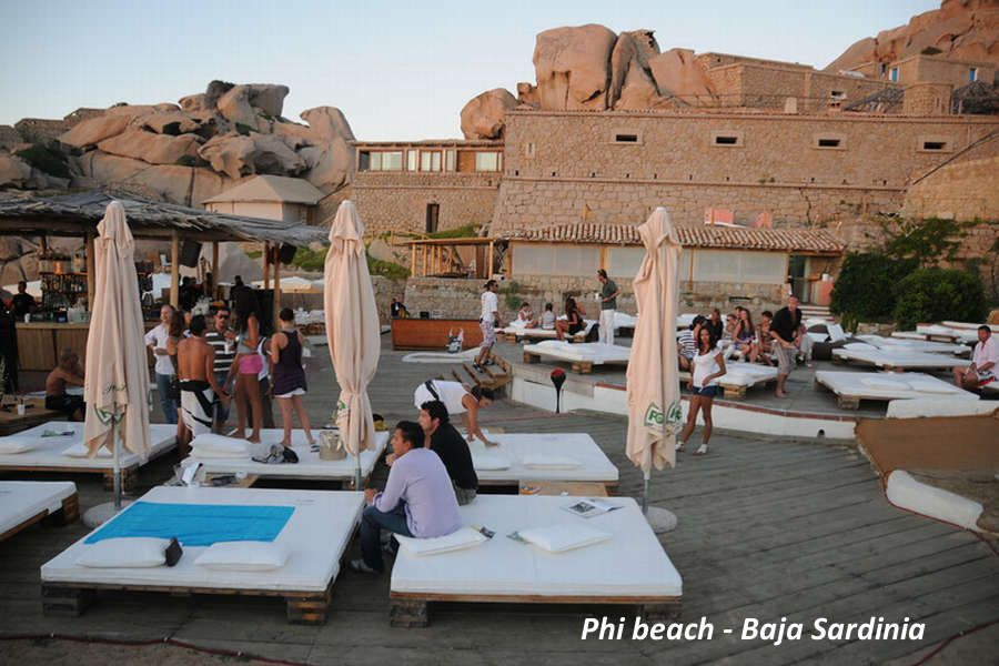 Club Della Costa Smeralda Sardinia Beach Club Beach Bars