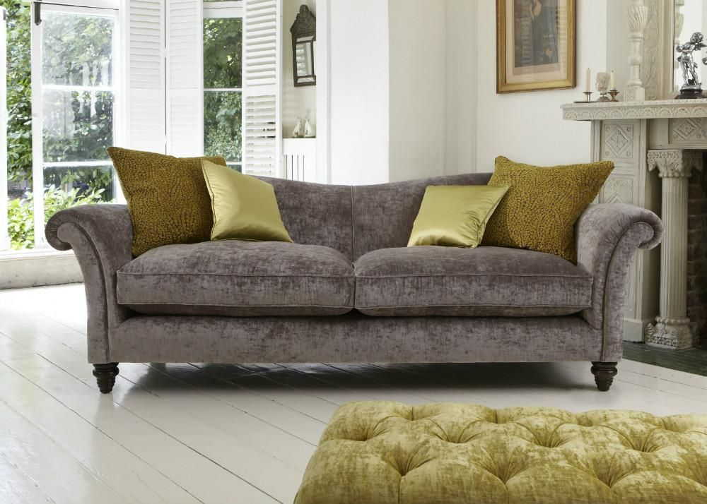Maison Etienne Sofa collection - Modena Velvet from George Tannahill & Sons