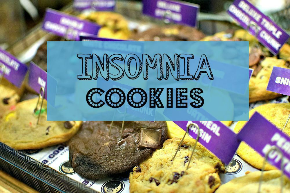 Late Night Munching with Insomnia Cookies