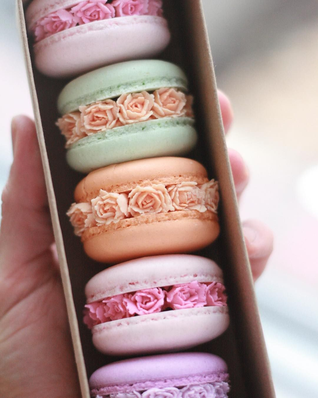 These Gorgeous Macaron Blossoms Are Like a Secret Garden For Your Eyes AND Mouth