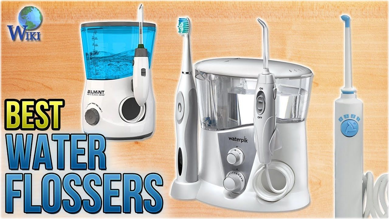 how to use a water flosser youtube