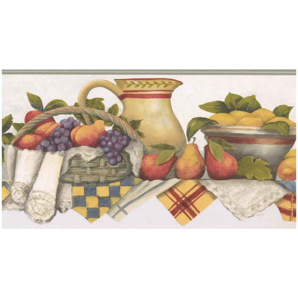 Norwall Kitchen Shelf Bowl of Strawberries Fruit Basket