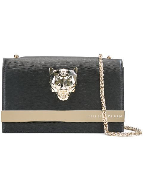 f469f5e6c86 PHILIPP PLEIN Panther Detail Clutch. #philippplein #bags #shoulder bags  #clutch #leather #hand bags #