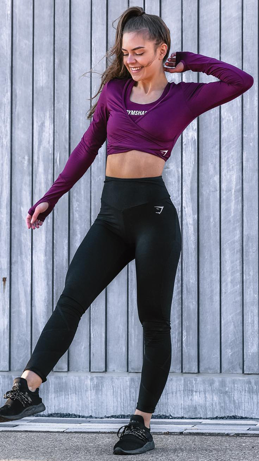 0062268fe57ef Mix n match with a Ruby Ballet Crop Top and Ruby Ark Sports Bra with the  Dreamy Black Leggings.  Gymshark  Gym  Sweat  Train  Perform  Seamless   Exercise ...